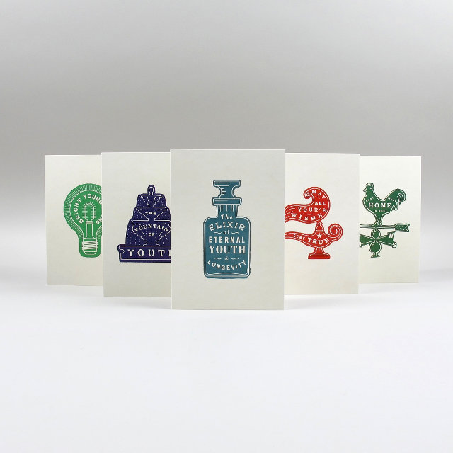 Message Cards by Pressed & Folded