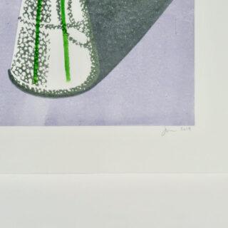 Jasmine Lino Print by James Brown