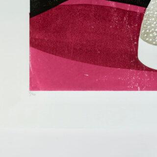 Nicotiana Lino Print by James Brown