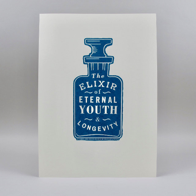 'Elixir' Screen Print