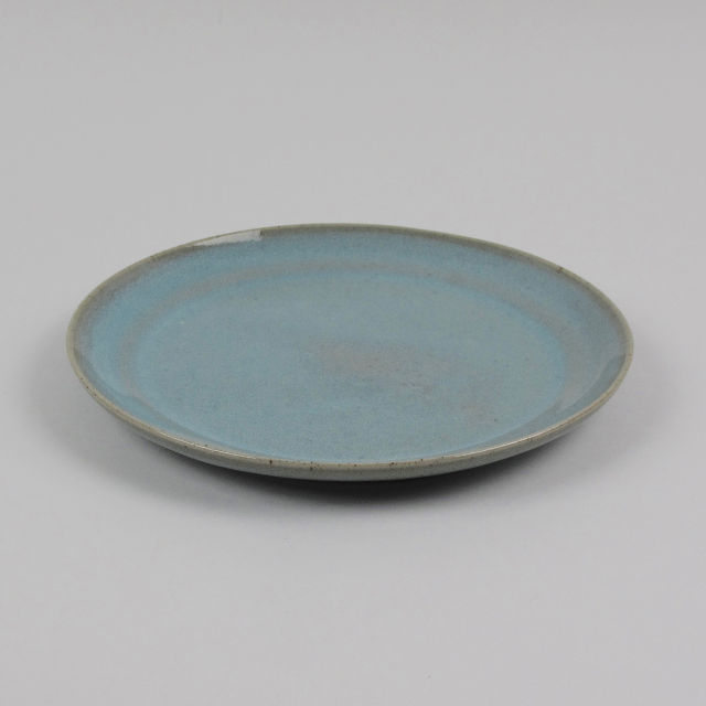 Hand Thrown Stoneware Plate Small Black Bough Ludlow