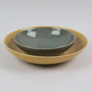 Hand Thrown Stoneware Bowl - Medium