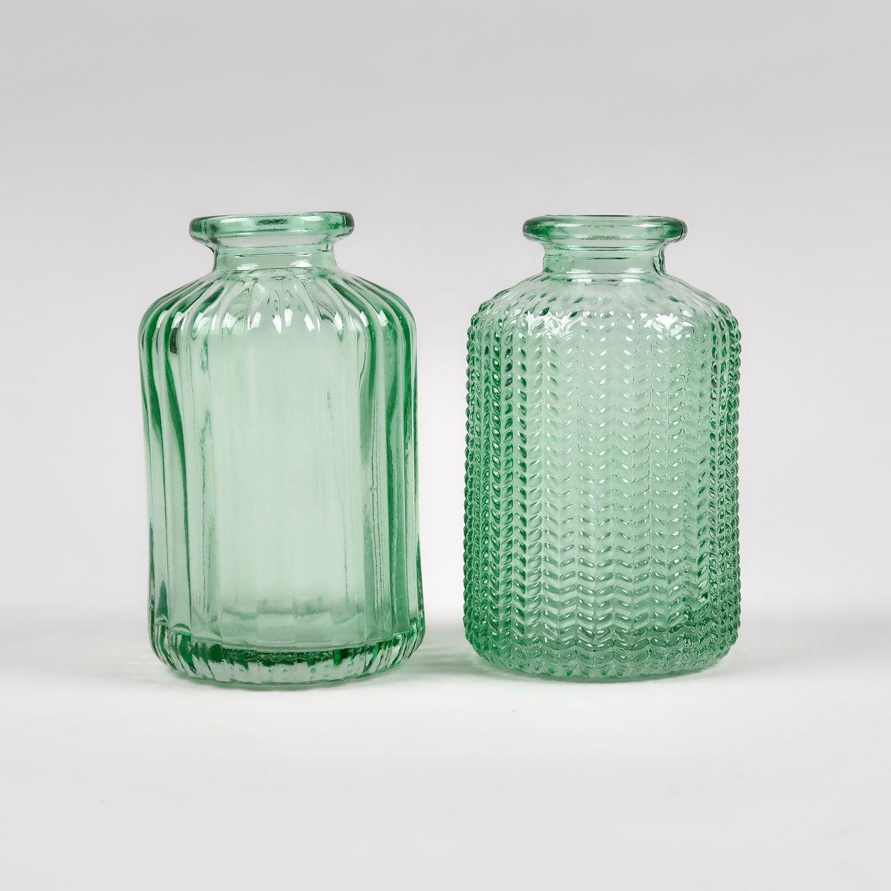 Jazz Bottle Vase - Green