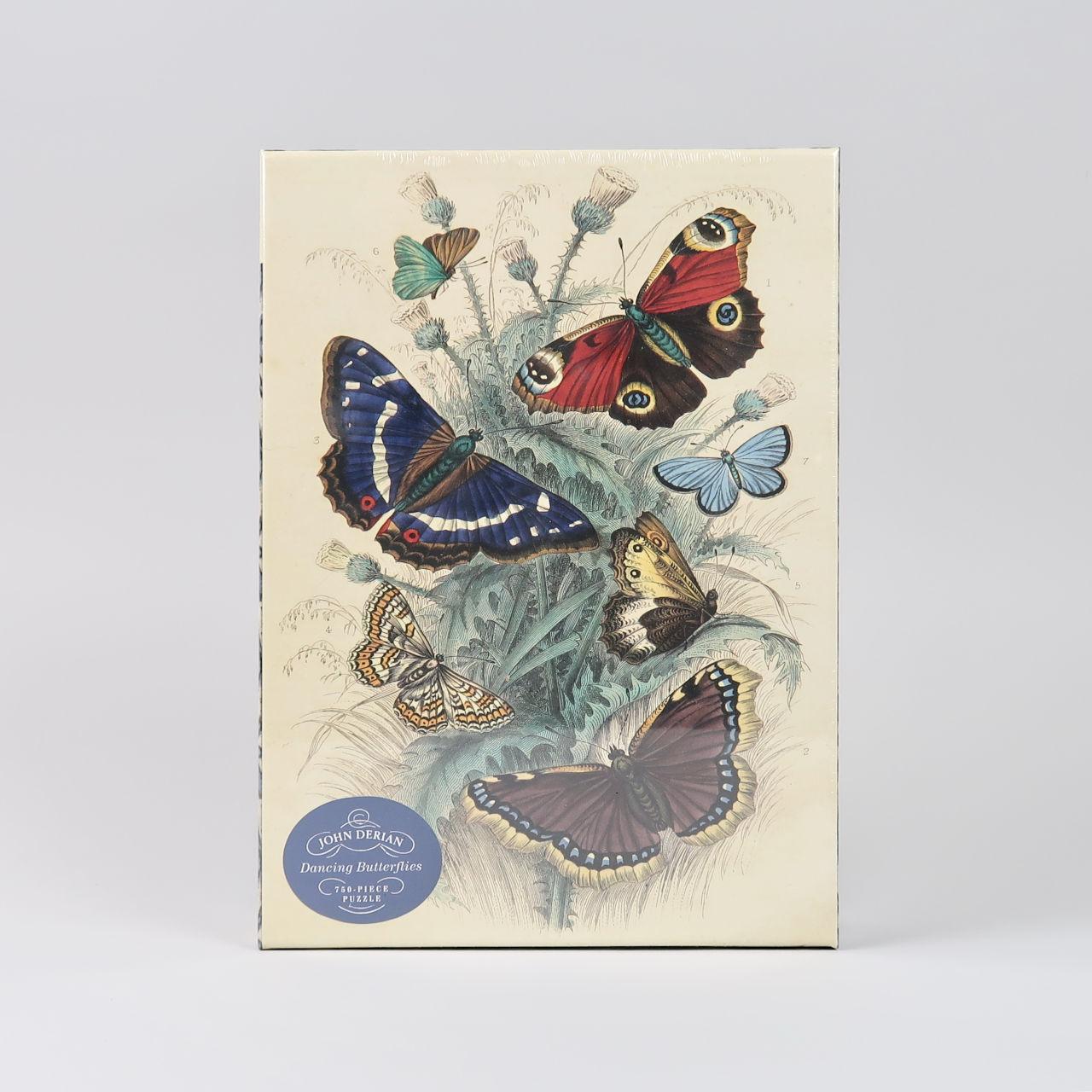 Dancing Butterflies - John Derian - 750 piece jigsaw puzzle