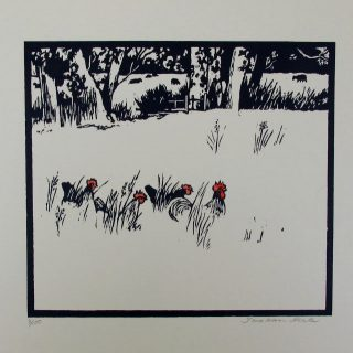 jonathan heale long grass woodcut 01