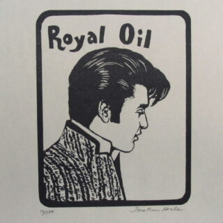 Woodcuts, Modern Men's Hairdos by Jonathan Heale