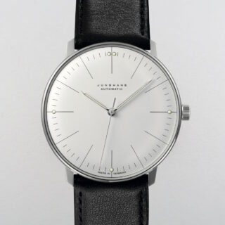 Junghans Max Bill 027/3501.00 steel wristwatch