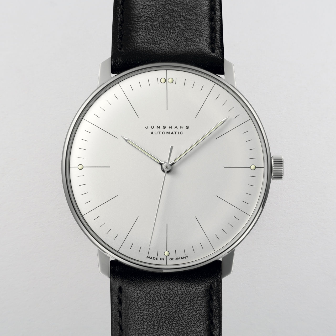 Junghans Max Bill 027/3501.00 steel wristwatch
