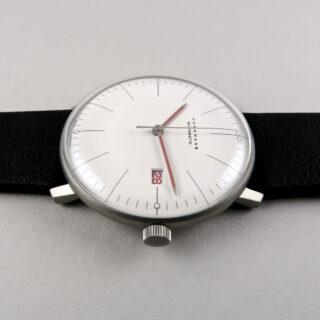 Junghans Max Bill Bauhaus Ref. 027/4009.02 automatic wristwatch