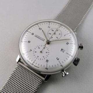 Junghans Max Bill Chronoscope Ref. 027/4003.48 steel automatic chronograph