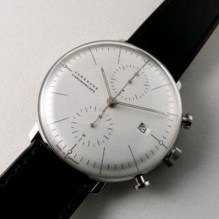 Junghans Max Bill Chronoscope Ref. 027/4600.04 steel automatic chronograph