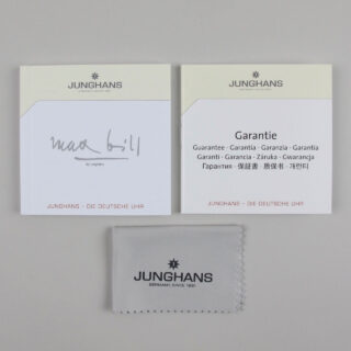 Junghans Max Bill Chronoscope Ref. 027/4601.00 steel automatic chronograph