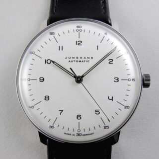 Junghans Max Bill Ref. 027/3500.00 steel wristwatch