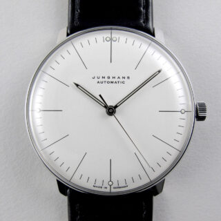 Junghans Max Bill Ref. 027/3501.00 steel wristwatch