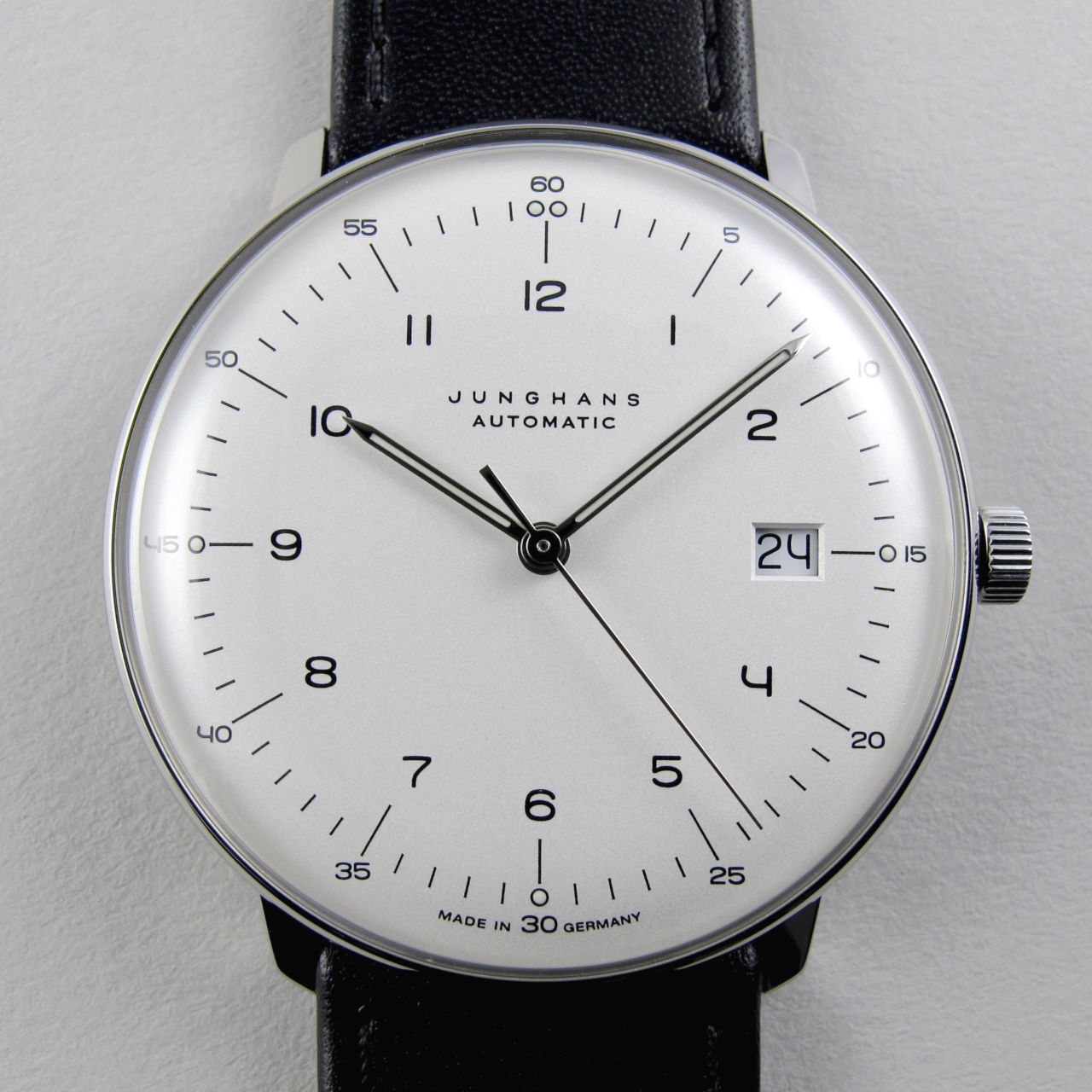 Junghans Max Bill Ref. 027/4701.00 steel wristwatch