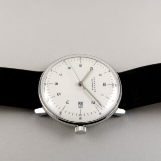 Junghans Max Bill Ref. 027/4700.00 steel automatic wristwatch