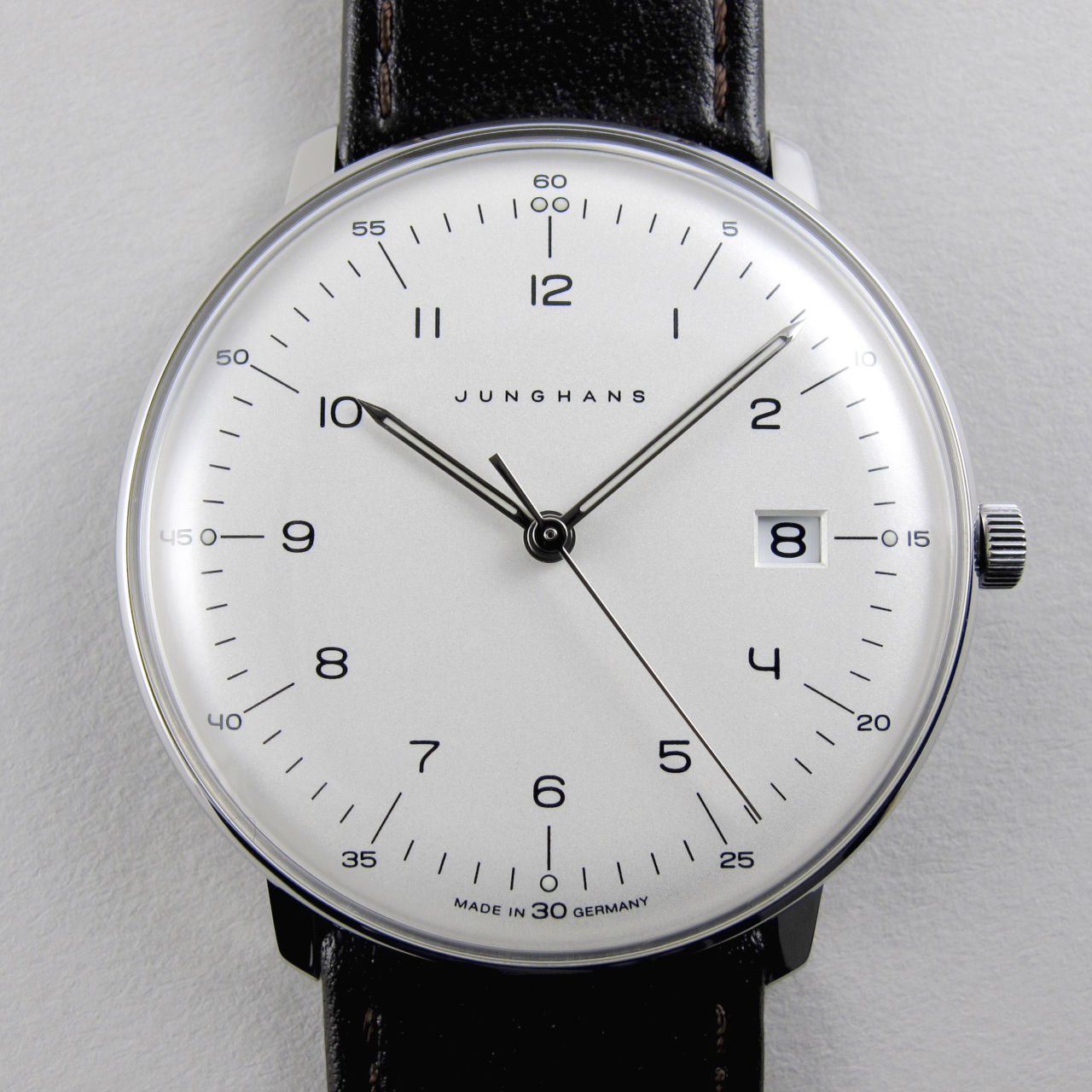 Junghans Max Bill Ref. 041/4461.00 steel wristwatch