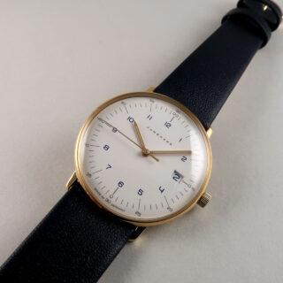 Junghans Max Bill Ref. 047/7851.04 PVD coated steel lady's quartz wristwatch