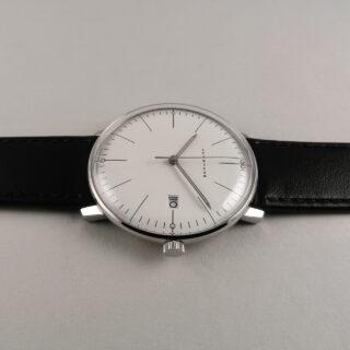 Junghans Max Bill Ref. 41/4817.04 steel quartz wristwatch