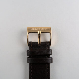 Junghans Max Bill Ref. 41/7872.04 PVD coated steel quartz wristwatch