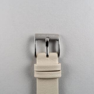 Junghans Max Bill Ref. 47/4252.04 steel lady's quartz wristwatch