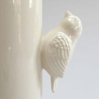 Handmade Ceramic Bird Jug, made by Katie Brinsley