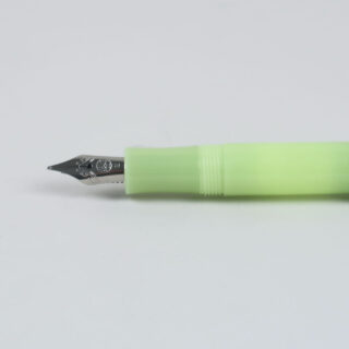 Frosted Sport Fountain Pen - Fine Lime