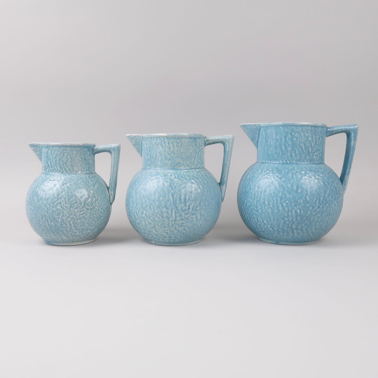 Turquoise Mottled Jugs by Kensington