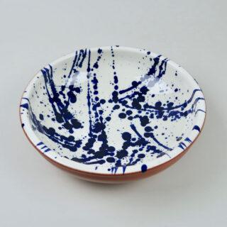 Terracotta Splatter Ware Bowl - Large