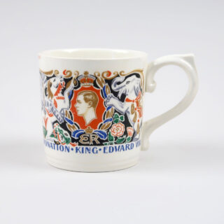 Edward VIII Coronation Mug by Laura Knight