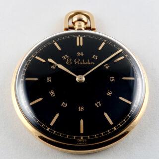 LeCoultre retailed by Gübelin circa 1935 18ct gold