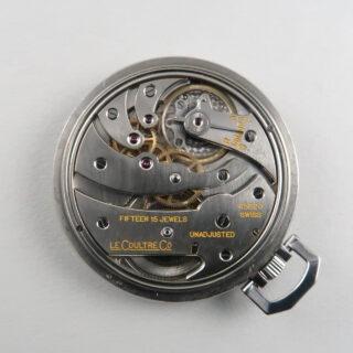 LeCoultre 'staybrite' steel pocket watch circa 1934