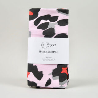 Pink Leopard Tea Towel