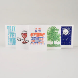archivist letterpress cards