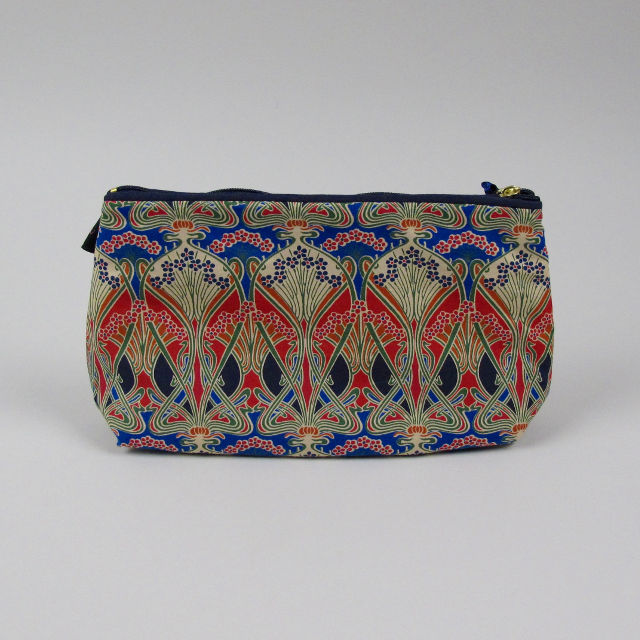 Liberty Print Fabric Cosmetic Bag - Ianthe