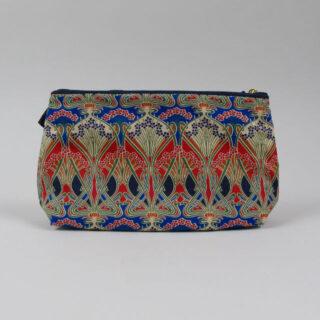 Liberty Print Fabric Cosmetic Bag - Ianthe