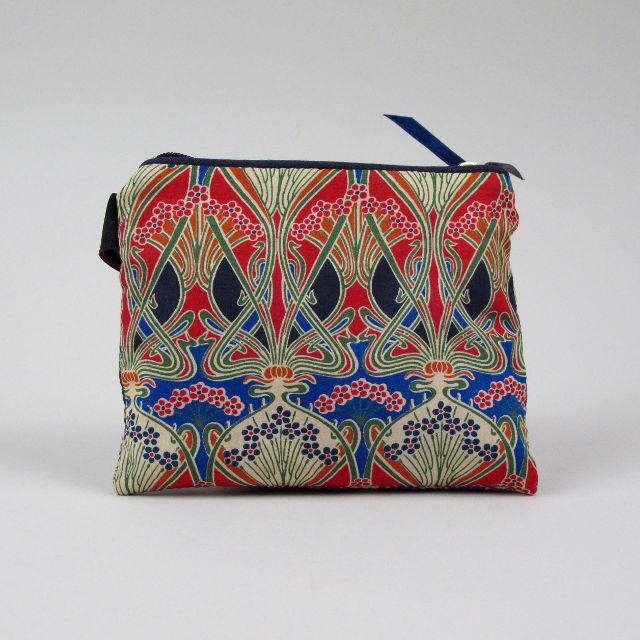 Liberty Print Fabric Purse - Ianthe
