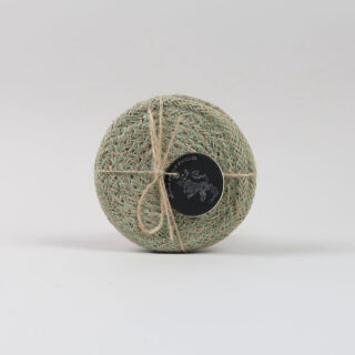 Set of 4 Jute Coasters - Limpid Green
