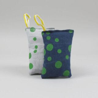 Printed Linen Lavender Bag