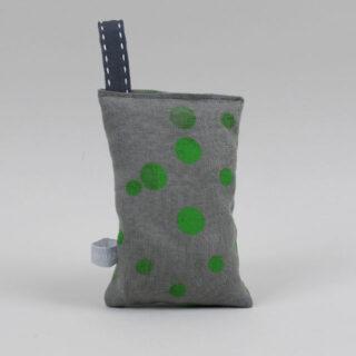 linen grey green spot lavender bags 02