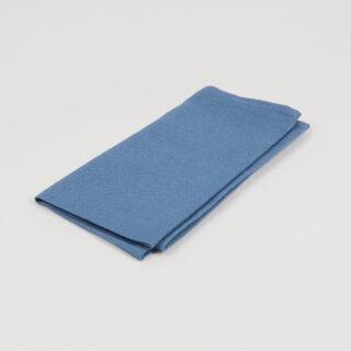 French Blue 100% Linen Napkin - handmade in Ludlow
