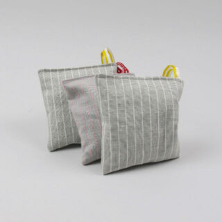 linen stripe lavender bag 01