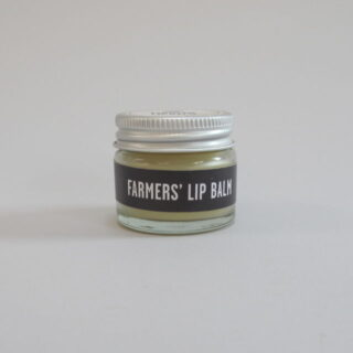 Farmers' Lip Balm made with Essential Lavender oil in the hills of Mid Wales