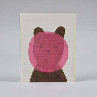 Greetings Card by Lisa Jones: Alien-Circus Elephant