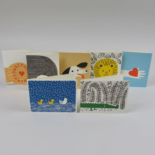 Greetings Card by Lisa Jones: Congratulations Cork-Love Token