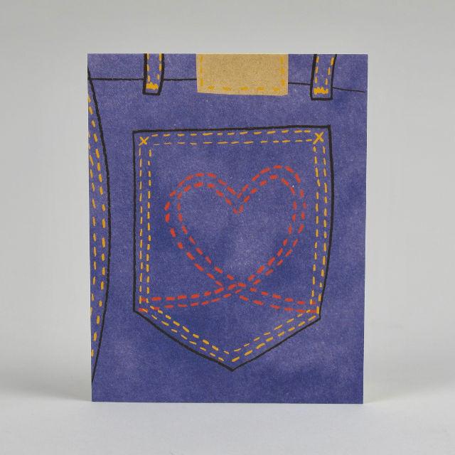 Hot Pants Card by Lisa Jones Studio