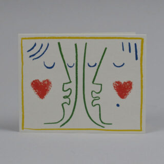 Kiss Card by Lisa Jones Studio