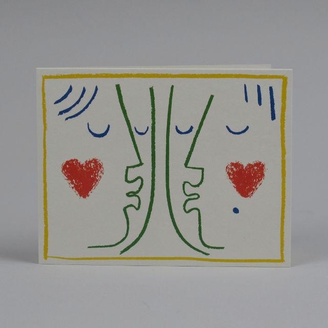 Kiss Card by Lisa Jones Studio