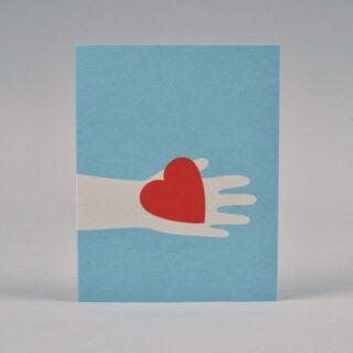 Love Token Card by Lisa Jones Studio