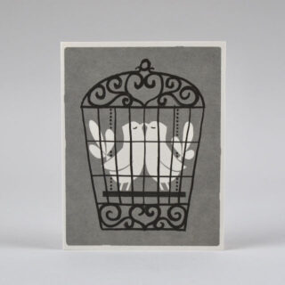 Lovebirds Card by Lisa Jones Studio